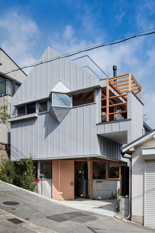 Mẫu thiết kế biệt thự đẹp 2 tầng kiến trúc độc lạ 1