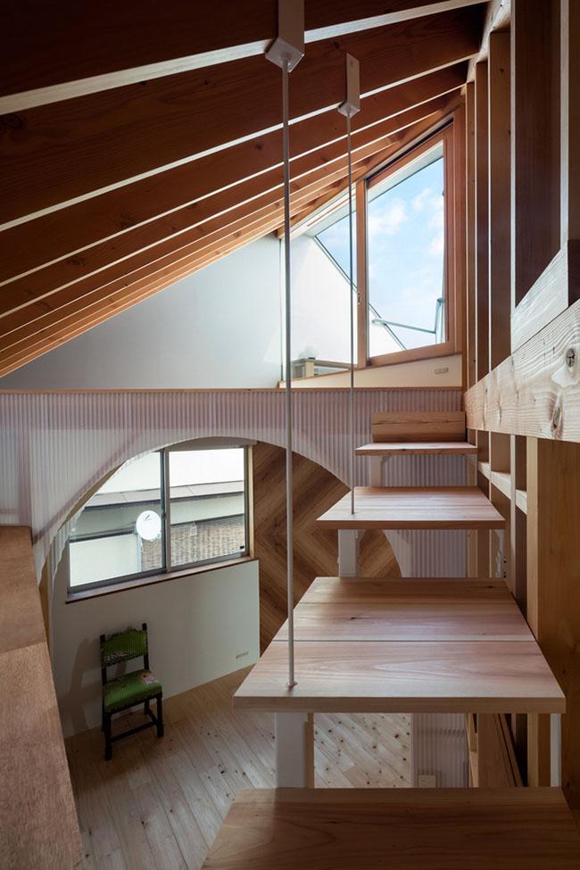 Mẫu thiết kế biệt thự đẹp 2 tầng kiến trúc độc lạ 5