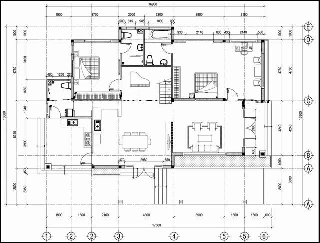 Mẫu thiết kế biệt thự đẹp 2 tầng thoáng mát. 1