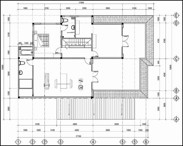 Mẫu thiết kế biệt thự đẹp 2 tầng thoáng mát. 2