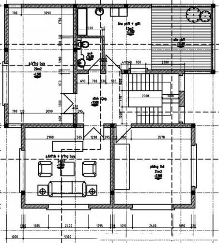 Mẫu thiết kế biệt thự đẹp 3 tầng ấn tượng. 3