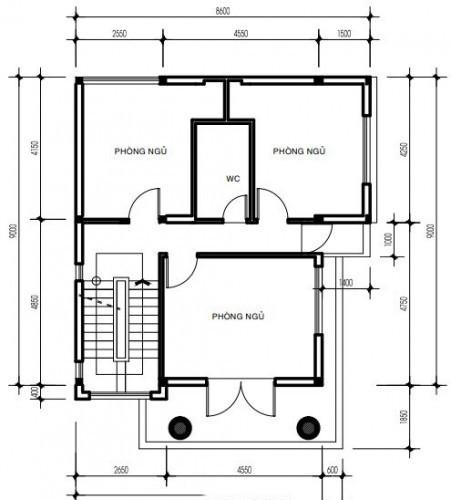 Thiết kế biệt thự đẹp bán cổ điển cao 3 tầng sang trọng - 3