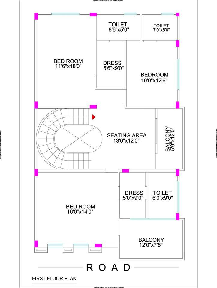 Mẫu thiết kế biệt thự đẹp 3 tầng lung linh. 2