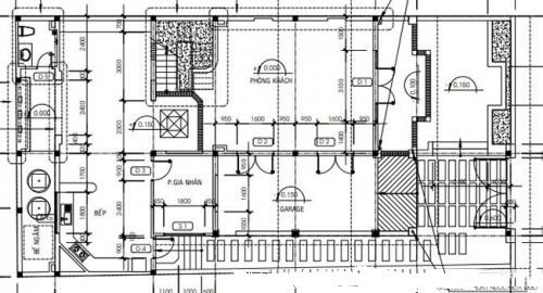 Mẫu thiết kế biệt thự đẹp 3 tầng mái Thái. 1