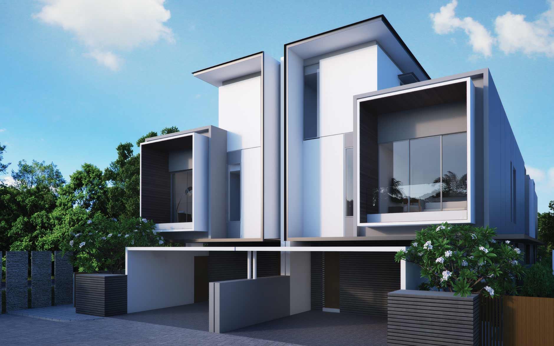 Mẫu biệt thự hiện đại 3 tầng cao cấp với không gian mở ấn tượng - 6