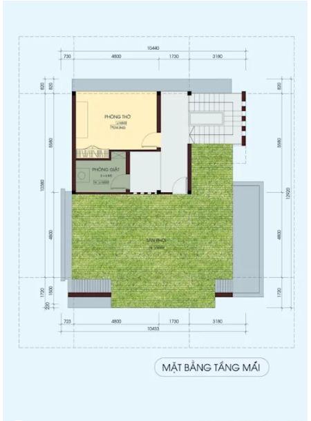 Mẫu thiết kế biệt thự đẹp 4 tầng lộng lẫy. 6
