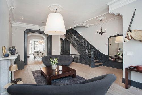 Phòng khách - Mẫu thiết kế biệt thự đẹp cổ điển sang trọng