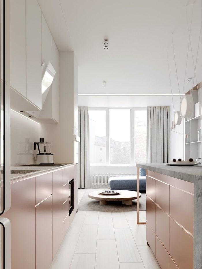 Mẫu thiết kế biệt thự đẹp gam màu Pastel 6