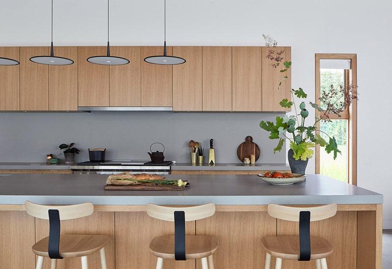 Mẫu thiết kế biệt thự vườn 1 tầng -Bếp ăn thông minh cao cấp