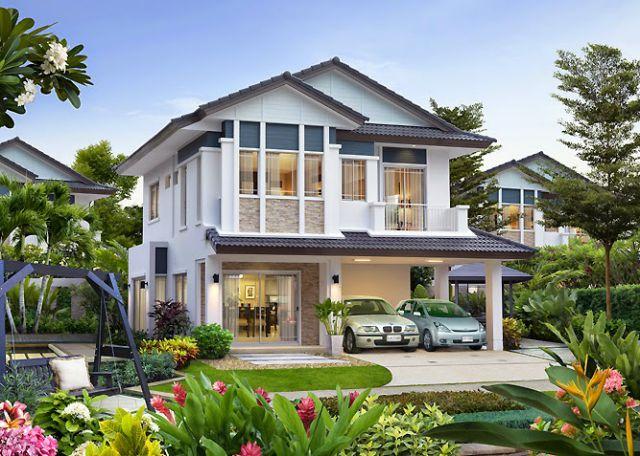 Mẫu thiết kế biệt thự vườn 2 tầng đẹp lung linh