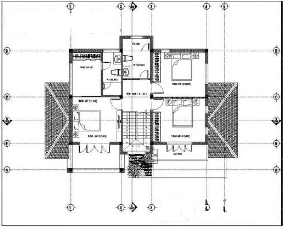 Mẫu thiết kế biệt thự vườn 2 tầng tại Thường Tín 100m2. 3