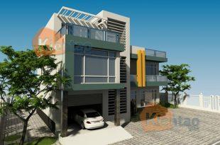 Mẫu thiết kế nhà biệt thự 2 tầng 1
