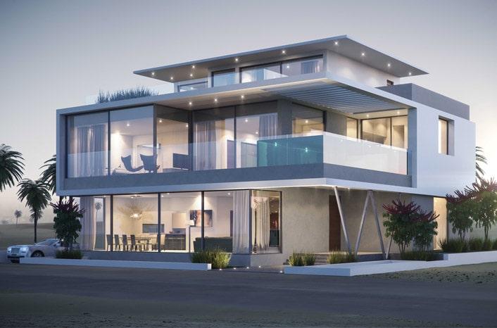 Mẫu thiết kế nhà biệt thự 2 tầng 4