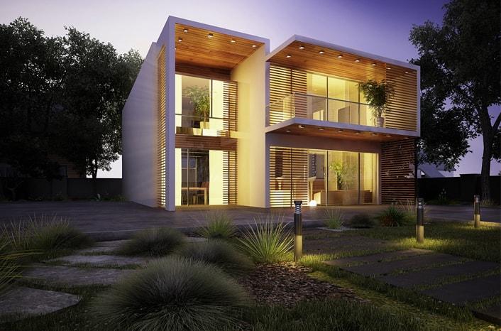 Mẫu thiết kế nhà biệt thự 2 tầng 6
