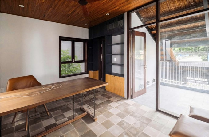 Biệt thự mái lá kiến trúc hiện đại 7