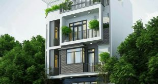 Nhà biệt thự 4 tầng 95m2