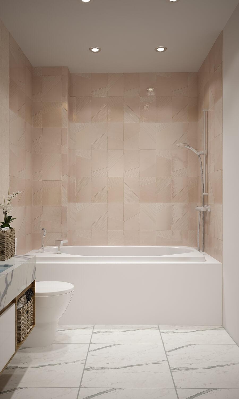 Phòng tắm tiện dụng - Nhà biệt thự 4 tầng 95m2