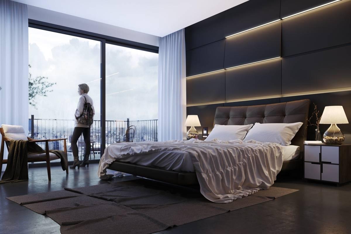 Thiết kế tường phòng ngủ biệt thự đẹp 3