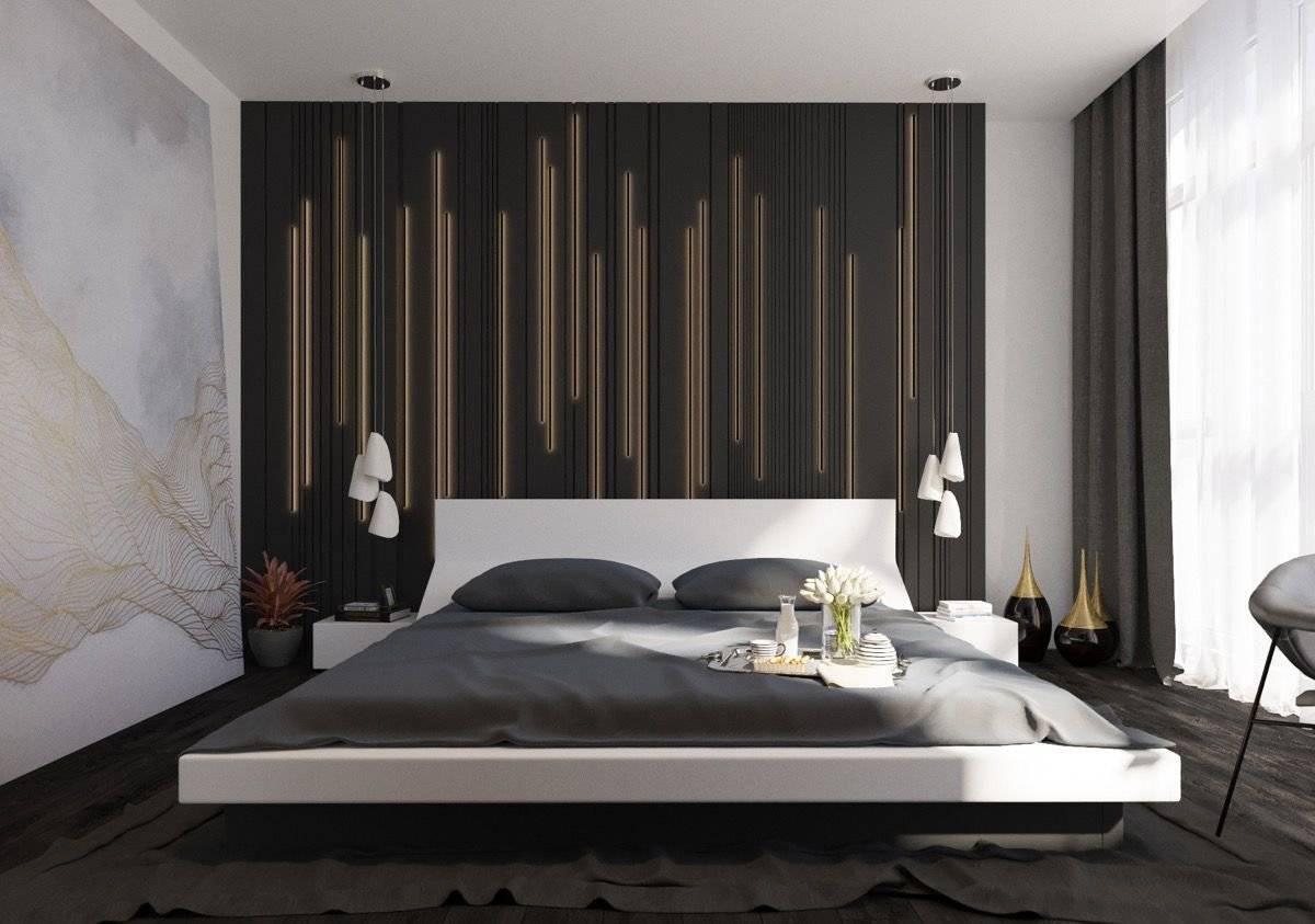 Thiết kế tường phòng ngủ biệt thự đẹp 5
