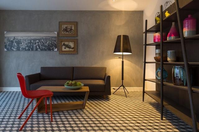 Thiết kế biệt thự 2 tầng đơn giản với nội thất gam trầm 8