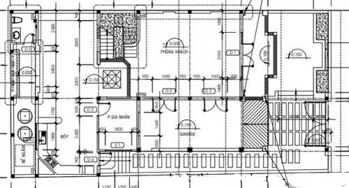 Thiết kế biệt thự đẹp 3 tầng mái thái 160m2. 1