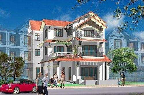Thiết kế biệt thự đẹp 3 tầng mái thái 160m2Thiết kế biệt thự đẹp 3 tầng mái thái 160m2