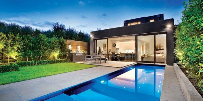 Thiết kế biệt thự đẹp có hồ bơi 1