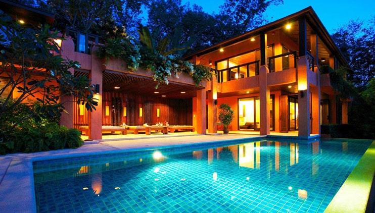 Thiết kế biệt thự đẹp có hồ bơi 2