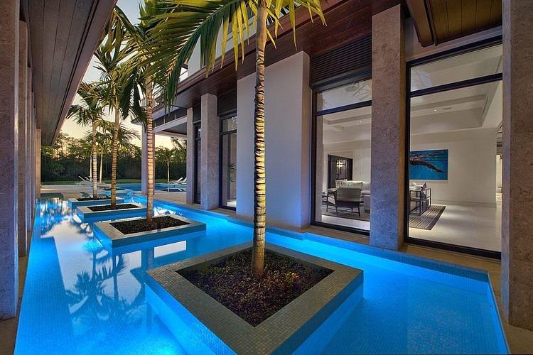 Thiết kế biệt thự đẹp có hồ bơi 3