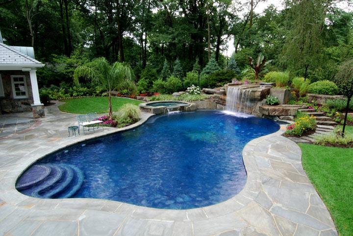 Thiết kế biệt thự đẹp có hồ bơi 5