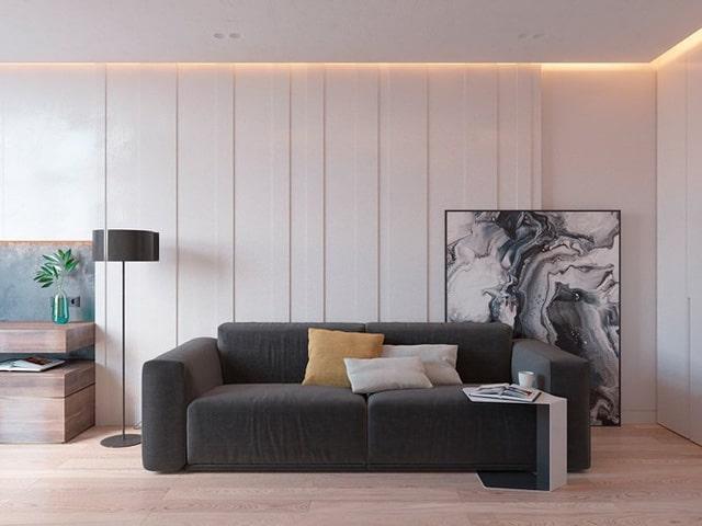 Thiết kế đèn âm tường cho nhà biệt thự 4