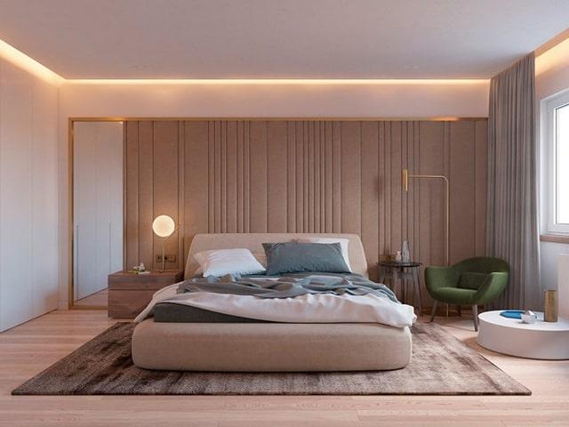 Thiết kế đèn âm tường cho nhà biệt thự 5