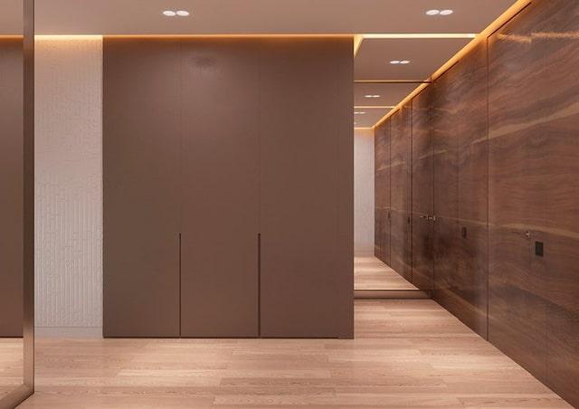 Thiết kế đèn âm tường cho nhà biệt thự 8