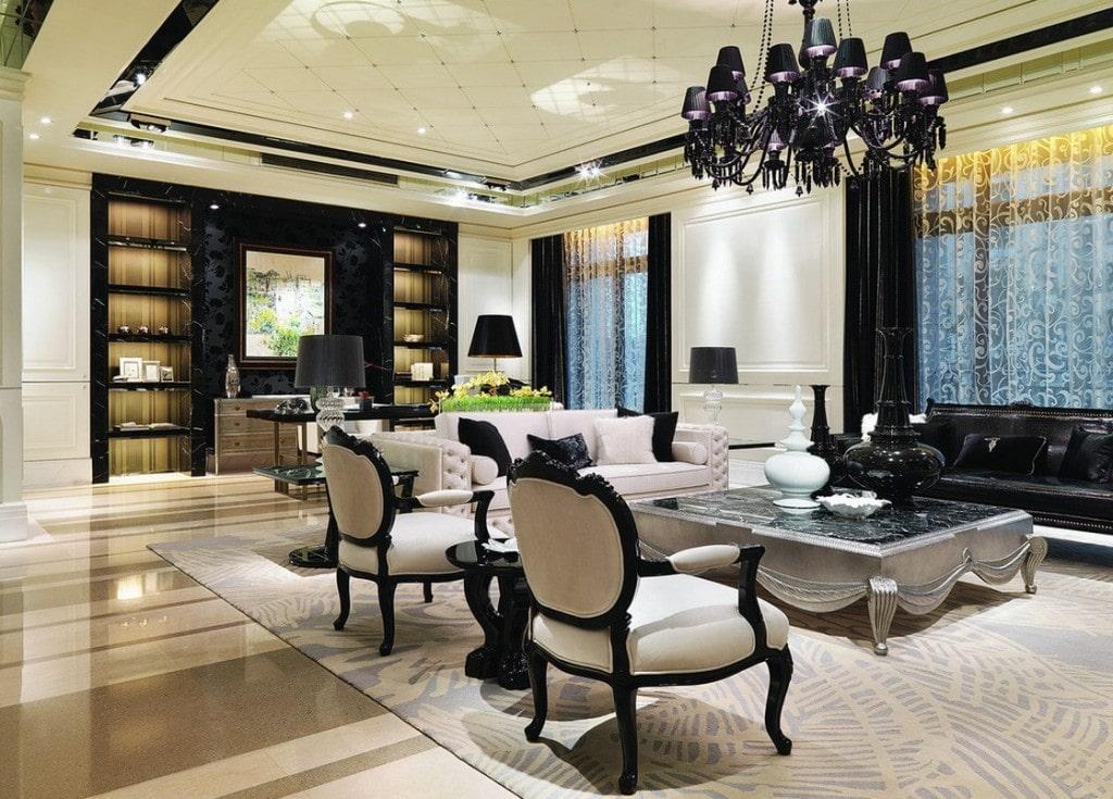 Thiết kế nội thất biệt thự tân cổ điển 6