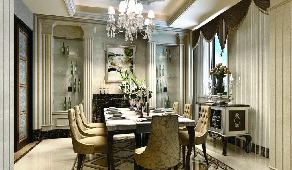 Thiết kế nội thất biệt thự tân cổ điển 4