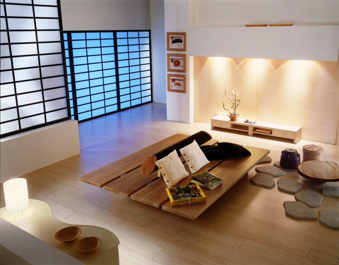 Thiết kế nội thất phong cách Nhật Bản 4