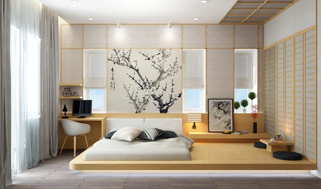 Thiết kế nội thất phong cách Nhật Bản 6