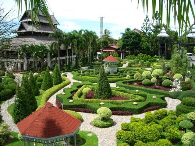 Thiết kế sân vườn Châu Âu cho mẫu biệt thự đẹp - 5