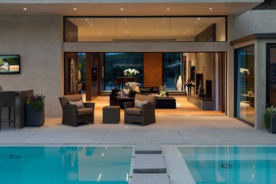Thiết kế bể bơi trong nhà biệt thự đẹp - 1