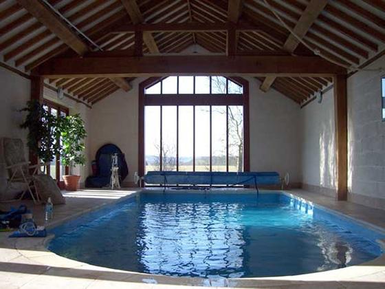 Thiết kế bể bơi trong nhà biệt thự đẹp - 2