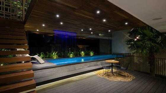 Thiết kế bể bơi trong nhà biệt thự đẹp - 3