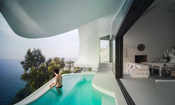 Thiết kế bể bơi trong nhà biệt thự đẹp - 4
