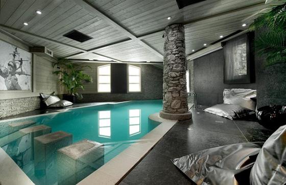 Thiết kế bể bơi trong nhà biệt thự đẹp - 5