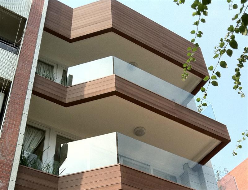 Ứng dụng của gỗ nhựa composite ốp tường