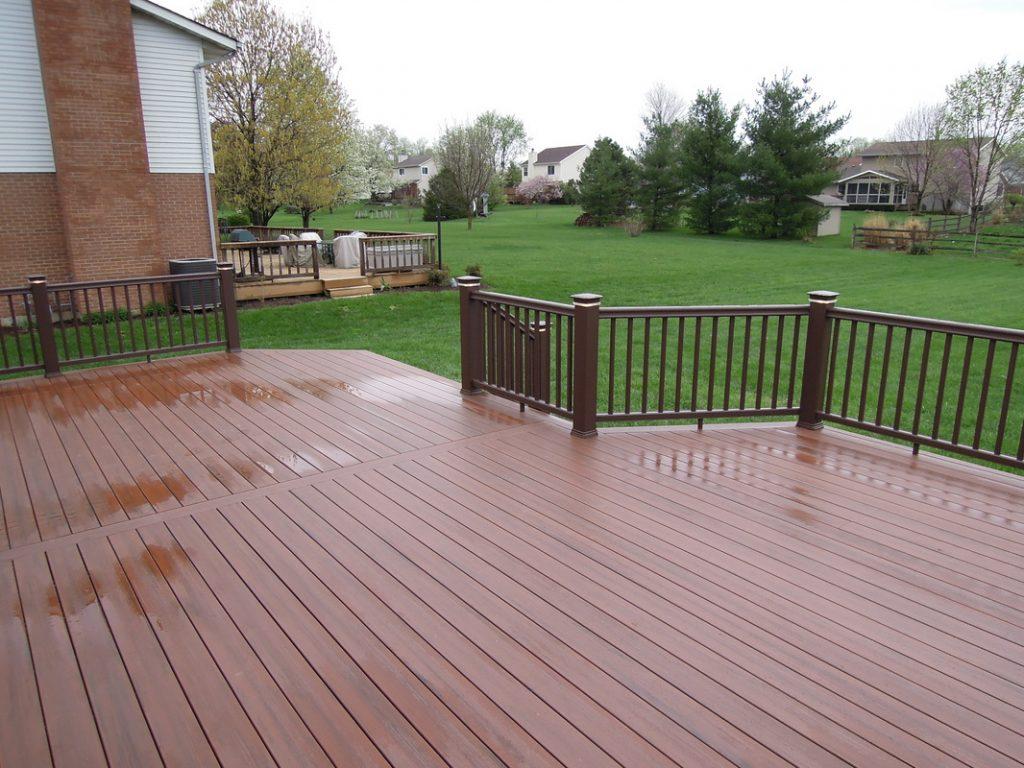 Ứng dụng của gỗ nhựa composite làm sàn nhà