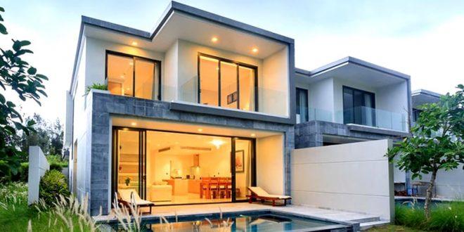 Biệt thự 2 tầng đẹp như resort